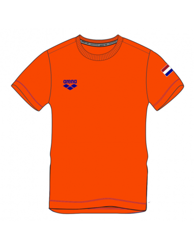 Arena M Nederland signature SS Tee Orange