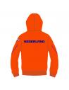 Arena Nederland Signature hooded jacket Orange