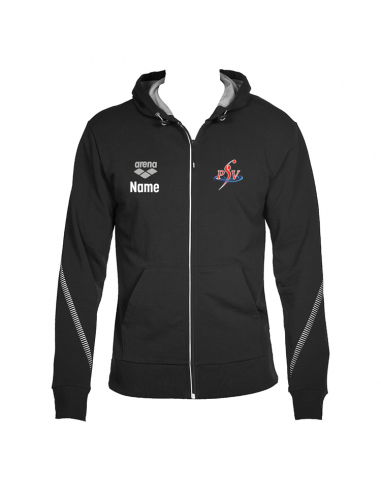 Arena PSV Waterpolo Tl Hooded Jacket Black