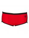 Arena Low Waist Team Stripe Red Black