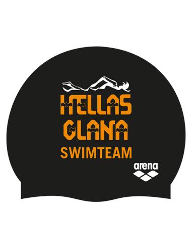 Arena Silicone Badmuts Customized Caps Hellas-Glana