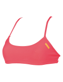 Arena Bandeau Play Fluo Red Yellow Star