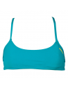 Arena Bandeau Play Persiangreen Yellow Star
