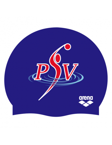 Arena Silicone Badmuts PSV Waterpolo Blue