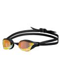 Arena Cobra Core Swipe Mirror Yellow Copper Black