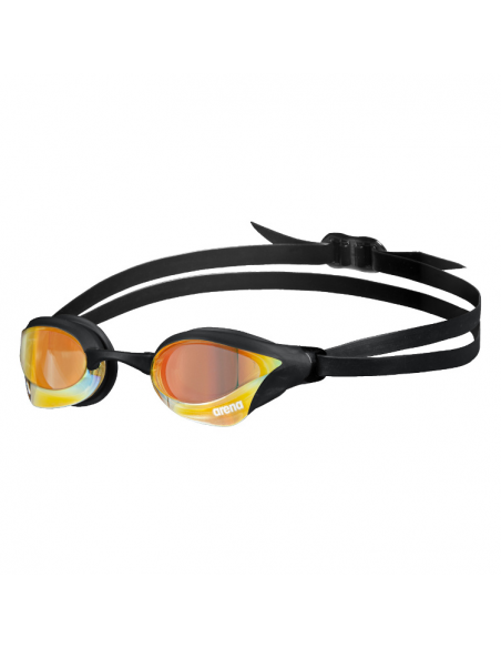 Arena Cobra Core Swipe Mirror Yellow Copper Black