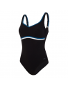 Speedo Sculpture Contour Luxe Black Blue White