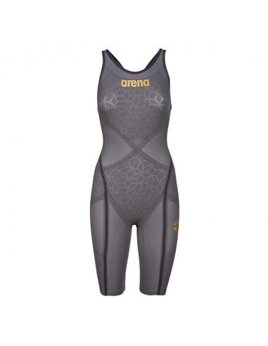 Arena Carbon Ultra Openback Dark Grey Gold