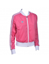 Arena W Relax IV Team Jacket Pink Flambe White